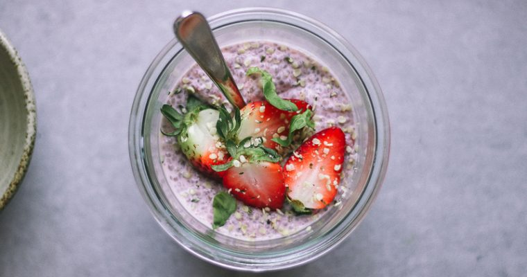 Chia Pudding alle Fragole / GF